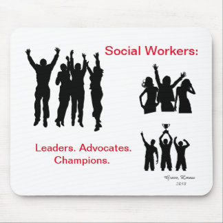 Social Workers Mouse Pad