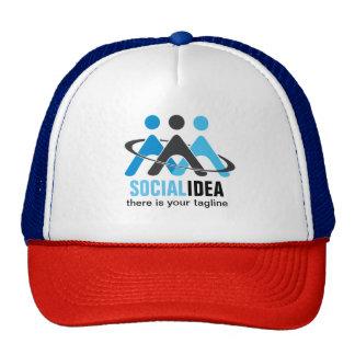 SOCIALIDEA Trucker has Cap