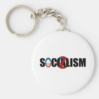 Socialism Buster Basic Round Button Key Ring