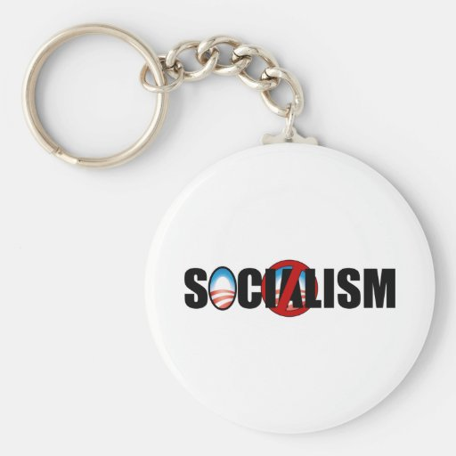 Socialism Buster Key Chain