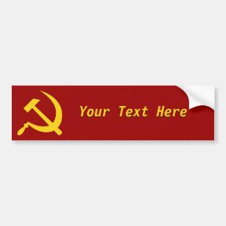 Socialism: Create Your Own Bumper Sticker