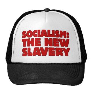 Socialism: The New Slavery Mesh Hat