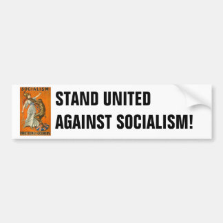 Socialism_Throttling_the_Country (PUBLIC DOMAIN) Bumper Sticker