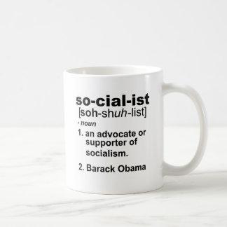 socialist definition coffee mug