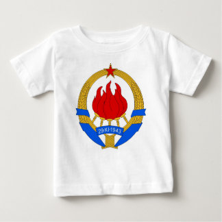 Socialist Federal Republic of Yugoslavia Emblem Baby T-Shirt