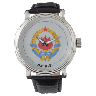 Socialist Federal Republic of Yugoslavia Emblem Watch
