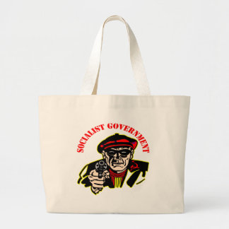 Socialist Government Is A Thief Robber Canvas Bag