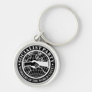 Socialist Party USA Logo Key Ring