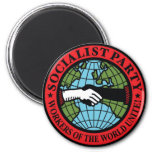 SOCIALIST PARTY USA REFRIGERATOR MAGNET