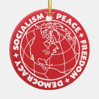 Socialist Peace Ornament