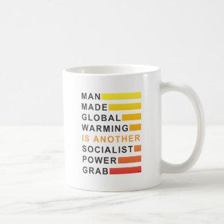 Socialist Power Grab Basic White Mug