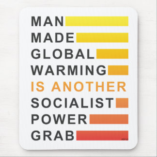 Socialist Power Grab Mouse Pad