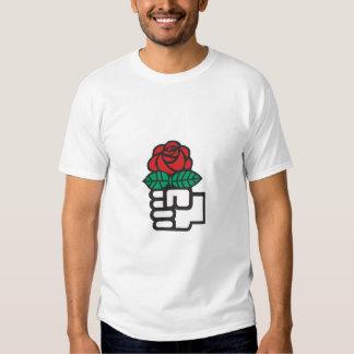 Socialist Red Rose T-Shirt