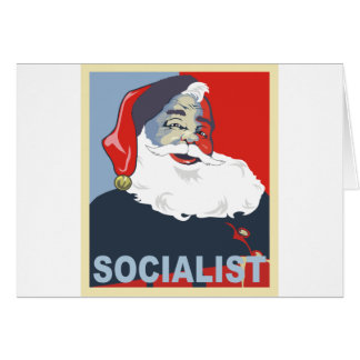 socialist santa card