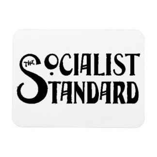 Socialist Standard 1900s logo white magnet