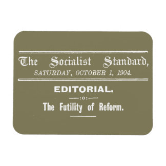 Socialist Standard 1904 October Editorial beige Magnet