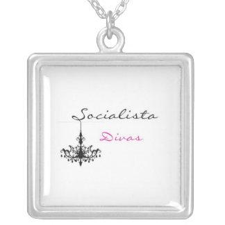 Socialista Divas Logo Necklace