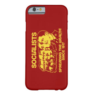 Socialists: Spreading the Wealth Barely There iPhone 6 Case