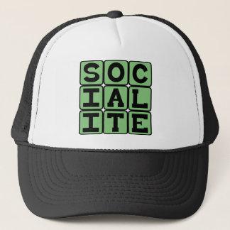 Socialite, Party Goer Trucker Hat