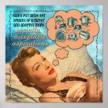 Socially Acceptable Aspirations Poster