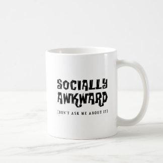 Socially Awkward Funny Mug