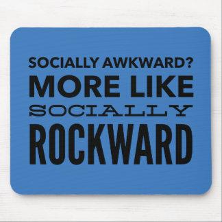 Socially awkward? mouse pad