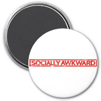 Socially Awkward Stamp Magnet