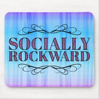 Socially Rockward Mouse Pad