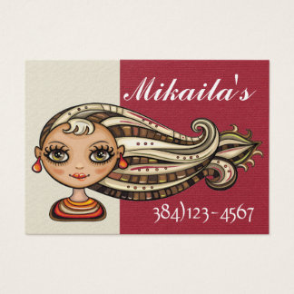 Society Diva Appointment Business Card