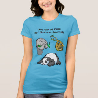 Society of Cute but Useless Animals T-Shirt