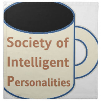 Society of Intelligent Personalities (SIP) Napkin