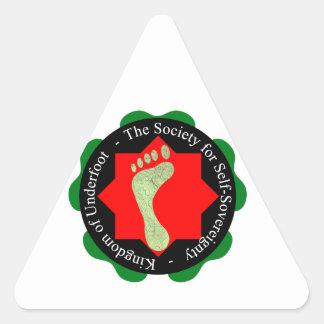 Society of Self-Sovereignty Triangle Sticker