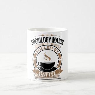 Sociology Major Fueled By Coffee Coffee Mug