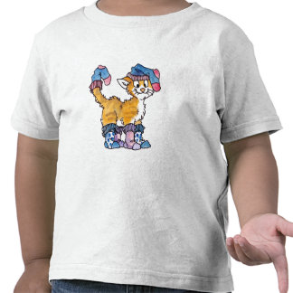 Sock Kitty Kids T-shirt