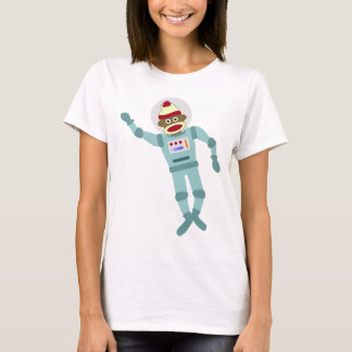 Sock Monkey Astronaut T-Shirt