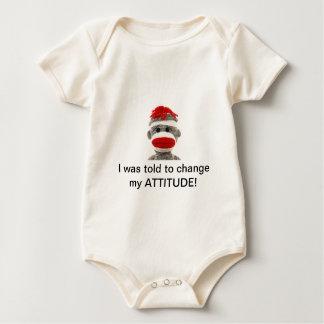 Sock Monkey Baby ONSIE Baby Bodysuit