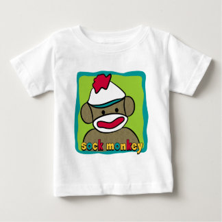 Sock Monkey Baby T-Shirt