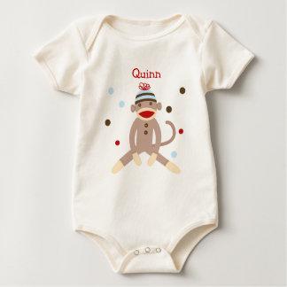 Sock Monkey Birthday Infant Toddler Tshirt