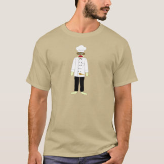 Sock Monkey Chef T-Shirt