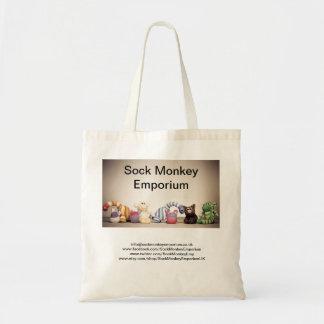 Sock Monkey Emporium Branded Tote Bag