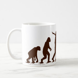 Sock Monkey Evolution Oh Yaaaah! Coffee Mug