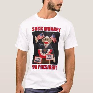 Sock Monkey for President T-Shirt