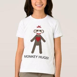 Sock Monkey Hugs T-Shirt