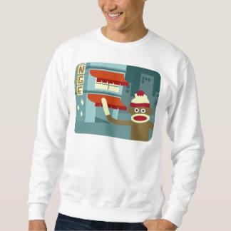 Sock Monkey Lounge Night Sweatshirt