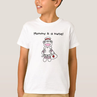 Sock Monkey Mommy Nurse T shirts and Gifts