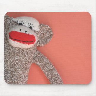 Sock Monkey Mousepad