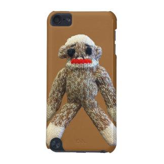 Sock Monkey on Brown iPod Case