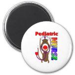 Sock Monkey Paediatrics Nurse Gifts Refrigerator Magnets