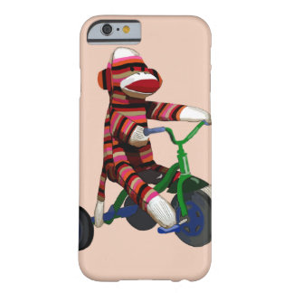 Sock Monkey Tricycle Barely There iPhone 6 Case