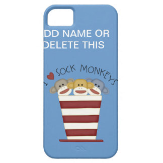 SOCK MONKEY'S Barely There iPhone 5 CASE